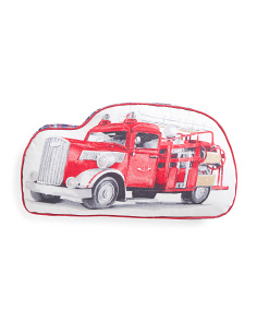 Kids 17x10 Shaped Truck Pillow