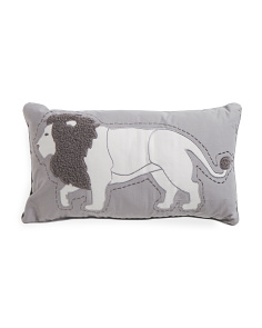 Kids 24x14 Lion Pillow