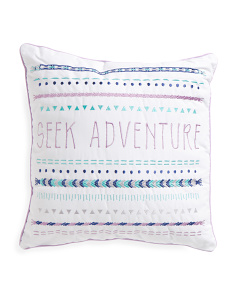 Kids 18x18 Abby Striped Pillow