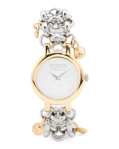 Women's Agadir Charm Two Tone Bracelet Watch