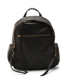 Leather Milford Backpack