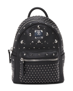 Special Stark Leather Backpack