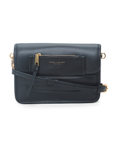Madison Medium Leather Crossbody