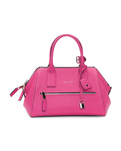 Made In Italy Incognito Leather Handbag