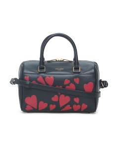 Made In Italy Leather Baby Master Duffel
