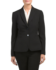 Petite Two Button Blazer