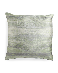 Made In USA 22x22 Metallic Pillow