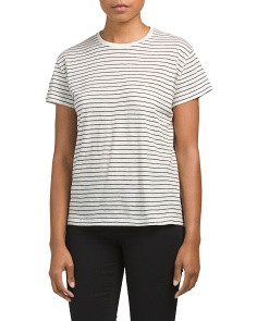 Relaxed Pima Cotton Tee