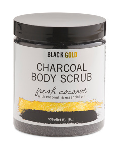 Fresh Coconut Charcoal Body Scrub