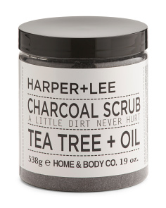 Tea Tree Charcoal Scrub