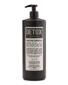 Detox Bodycare Charcoal Shower Gel
