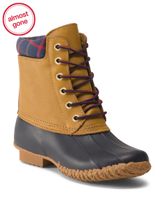 Waterproof Cold Weather Duck Boots