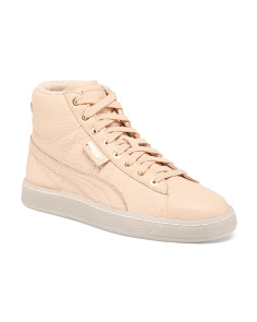 Embossed Leather Fashion Sneakers