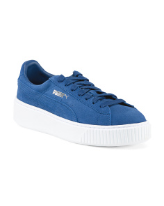 Platform Suede Fashion Sneakers