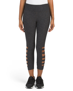Lattice Cut Out Capris