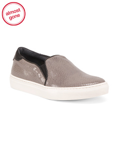 Made In Italy Slip-on Sneakers