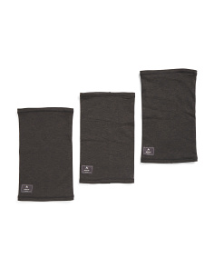 3pk Dri-release Wool Neck Warmer