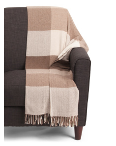 Made In Ireland Cashmere Throw