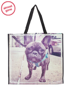 NYC Frenchie Reusable Bag