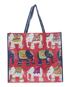 Palm Elephant Reusable Bag