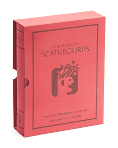 Vintage Book Box Scattergories
