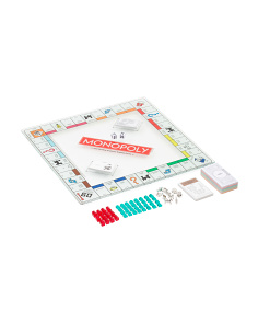 Luxury Glass Monopoly Game