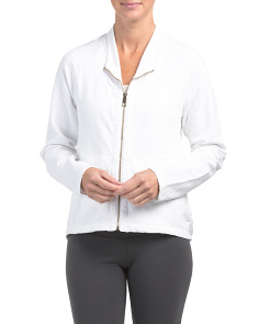 Rita Stretch Slub Terry Jacket