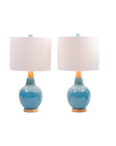 Set Of 2 Mid Centruy Modern Lamps
