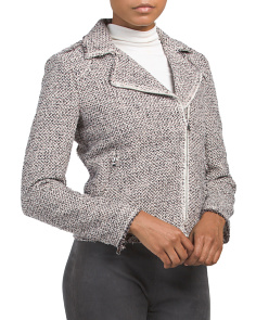 Structured Tweed Jacket