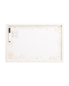 16x24 Floral Pattern Dry Erase Board