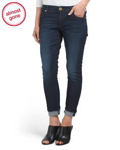 Liv Low Rise Relaxed Skinny Jeans