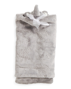 Elephant Lovie Baby Blankie