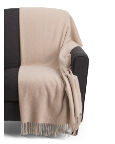 Made In Italy Luxury Cashmere Throw
