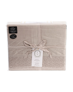 300tc Thames Embroidered Duvet Set