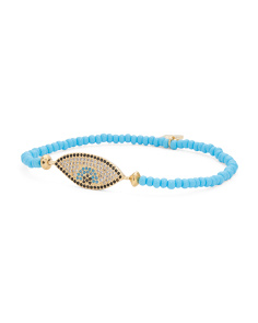 Handmade In Canada Thira Evil Eye Bracelet