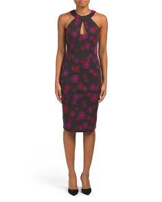 Colina High Neck Midi Dress