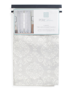 40x96 Set Of 2 Pole Top Curtains