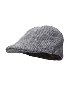 Flat Top Driving Cap