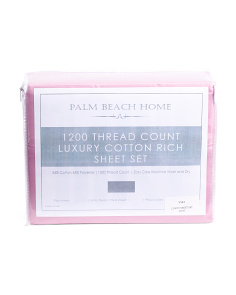 1200tc Luxury Sheet Set