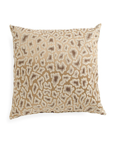 Made In USA 22x22 Animal Print Pillow