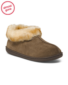 Autumn Ridge Suede Slippers
