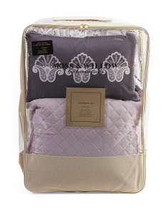 Quinn Medallion Comforter Set