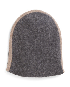 Reversible Cashmere Hat