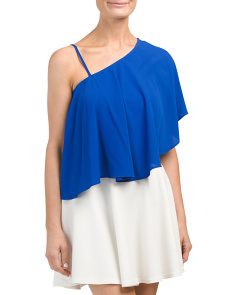 Juniors One Shoulder Top