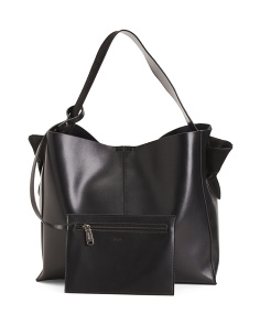 Unlined Leather Hobo