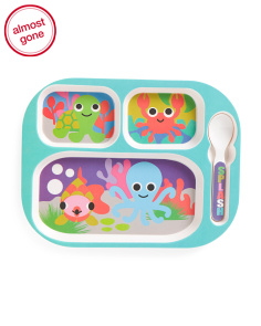 Kids Ocean Animals Food Tray