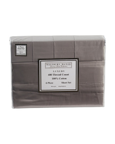 6pc 400tc Luxury Sheet Set