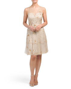 Maritza Beaded Dress