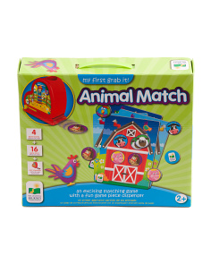 My First Grab It Animal Match Game