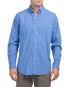 Long Sleeve Check Woven Shirt